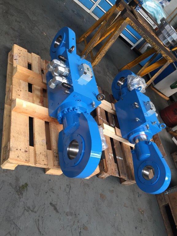 Xi lanh thủy lực ghi làm lạnh nhà máy xi măng