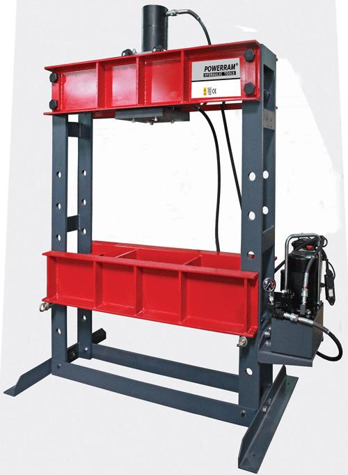 Máy ép thuỷ lực 100 tấn POWERRAM HSP100T Series