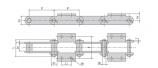 Xích Tải Liệu Kiểu P152 Dùng Trong Nhà Máy Xi Măng